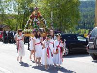 Am Ulrichsonntag wird in Krakauebene altes Brauchtum mit dem Kirchweihfest verbunden