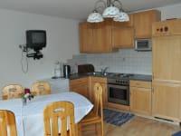 Wohnküche Ferienwohnung Kalkberg