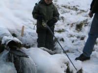 Fischen Winter
