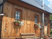Ferienhütte Hiasl Eingang