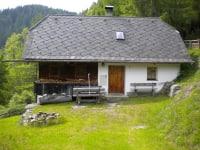 die Roanerhütte im Sommer