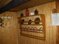 Vorraum/kloane Hütte