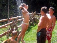 Duschen im Freien