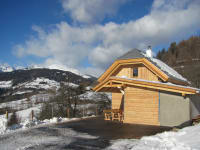 Ferienhütte Winter