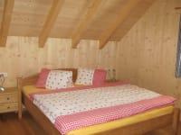 Schlafzimmer Ferienhütte
