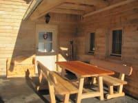 Sitzecke Ferienhütte