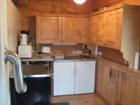 Küche Killibauernhütte