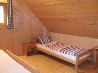 Schlafzimmer Killibauernhütte