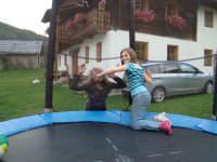 Immer ein Vergnügen - Trampolin springen