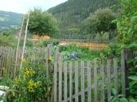 Ein Blick auf den Bauerngarten