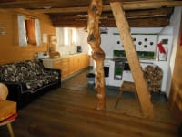 Küche Holzknechthütte