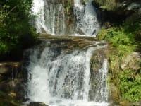 Graggerschlucht Kaskadenwasserfall