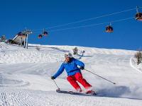 Schifahren mit herrlicher Aussicht
