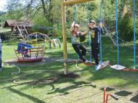 Großer Spielplatz auch für größere Kinder