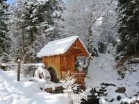 Die Wassermühle beim Haus