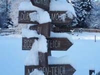 Genussvolle Spaziergänge machen - Winterwanderwege laden dazu ein
