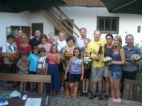 Feiern mit langjährigen Gästen