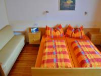 Schlafzimmer der Ferienwohnung Abendsonne