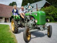 Eine Traktorfahrt macht Spaß!