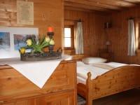 Wohn-Schlafzimmer Rustikal