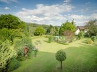 Ein Übersichtsfoto unseres Gartens