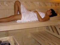 Welnnessbereich -Sauna