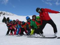Spaß beim Skifahren