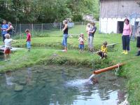 Fischen bei den Saiblingen