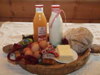 Frühstücks- Willkommenskorb