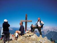 Hausberg Pirchkogl bei Marlstein, ach sind wir stolz auf den Gipfelsieg