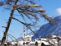 Roppen Kirche Winter