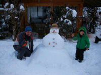 Der Schneemann lässt grüßen