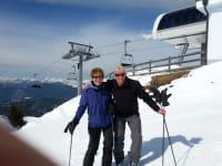 Gerrit und Henny unsere Stammgäste in Hochötz