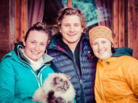 Geschwister Beatrix, Frederik und Vanessa
