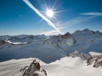 hier oben schlagen Skifahrerherzen höher