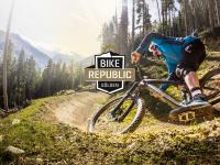 Downhillbiken im neuen Bikepark