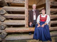 Bauer Werner und Bäuerin Gerda