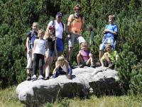 Bergwanderführer Elmar zeigt uns wunderschöne Plätze