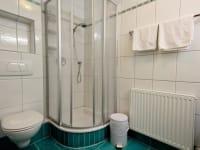 Appartement Silberdistel Bad mit Dusche