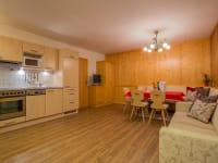 Appartement Silberdistel Wohnküche