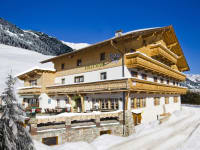 Alpengasthof Praxmar im Winter