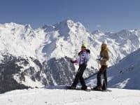 Schneeschuhwandern im Sellraintal