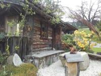 Hütte im Garten