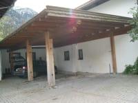 Carport am Bruggerhof in Leutasch
