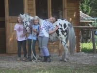 Kinderlachen bei den Ponys