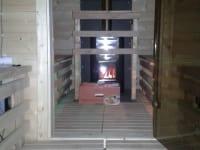 Gullenhütte Sauna mit Holzofen