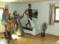 aktiv im Fitnessraum