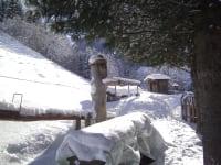 Kneippbrunnen im Winter
