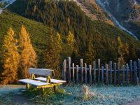 Autumn morning at the Schlickertal