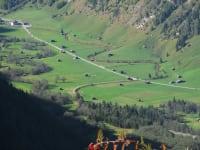 Ausblick auf das Valser-Tal